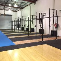 After | Movement Co new gymnasium | Full internal new paint to all walls, blocks, rails and bars