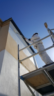 Painting | Full exterior repaint to a two storey beach side home
