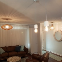 After | Lighting, furniture selction, window treatments, painting & colour consultancy